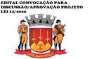 Convocação Discussão/Aprovação LDO - PL 12/2020